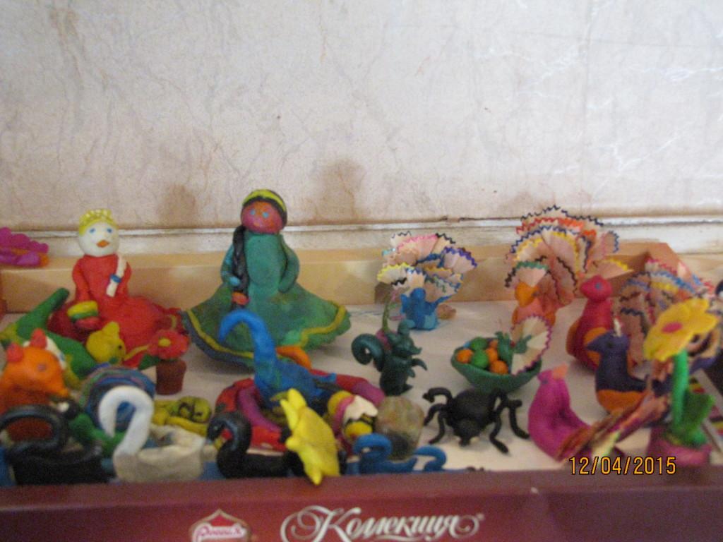 Поделки из пластилина в воскресной школе 86